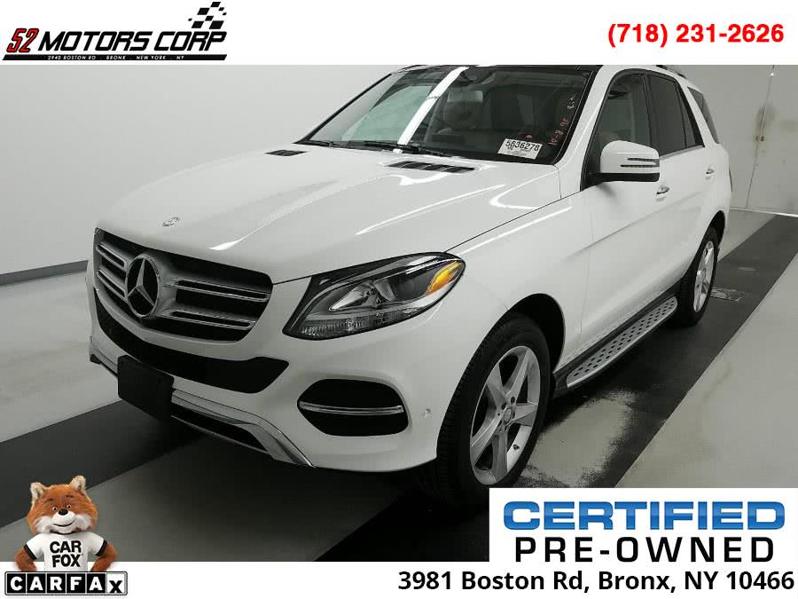 Used 2017 Mercedes-Benz GLE in Bronx, New York | 52Motors Corp. Bronx, New York