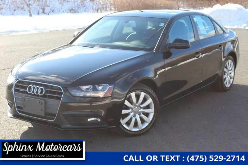 Used 2013 Audi A4 in Waterbury, Connecticut | Sphinx Motorcars. Waterbury, Connecticut