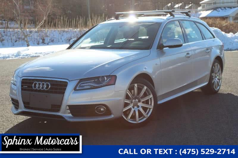 Used 2012 Audi A4 in Waterbury, Connecticut | Sphinx Motorcars. Waterbury, Connecticut