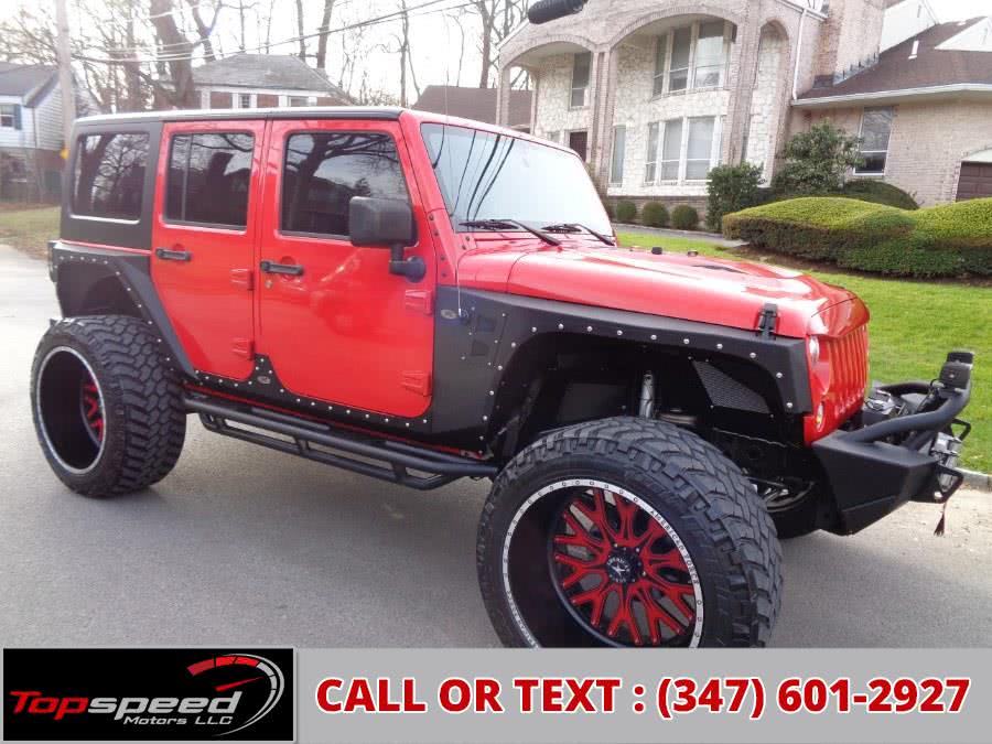 Used 2016 Jeep Wrangler Unlimited in Jamaica, New York | Top Speed Motors LLC. Jamaica, New York