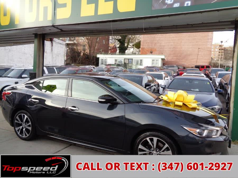 Used 2017 Nissan Maxima in Jamaica, New York | Top Speed Motors LLC. Jamaica, New York