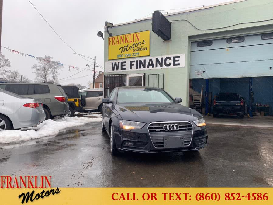 Used 2014 Audi A4 in Hartford, Connecticut | Franklin Motors Auto Sales LLC. Hartford, Connecticut