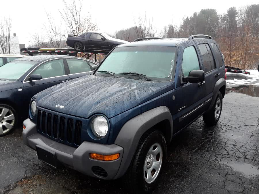 Used Jeep Liberty 4dr Sport 4WD 2004 | Bart's Automotive Sales. Watertown, Connecticut