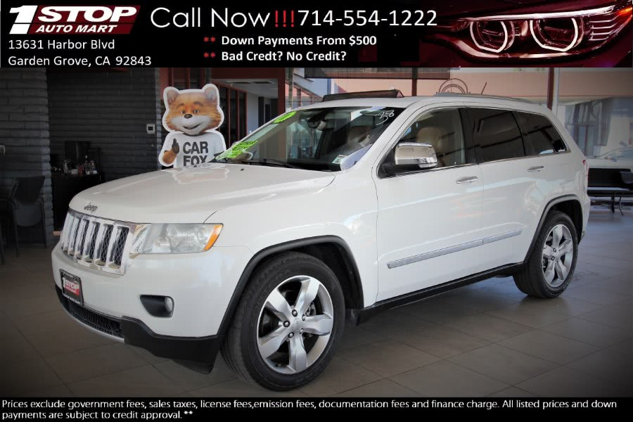 Used 2012 Jeep Grand Cherokee in Garden Grove, California | 1 Stop Auto Mart Inc.. Garden Grove, California