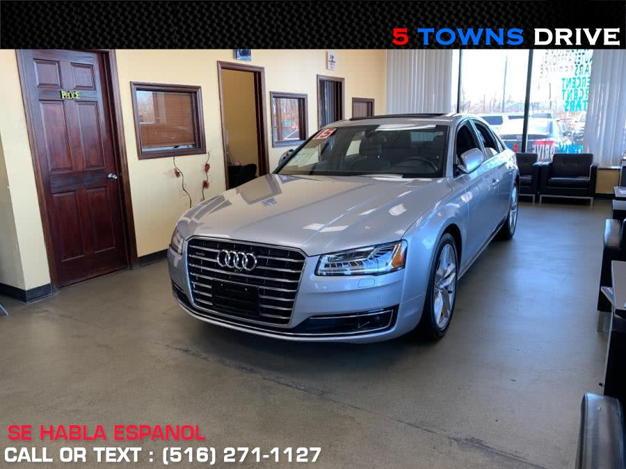Used 2015 Audi A8 in Inwood, New York | 5townsdrive. Inwood, New York