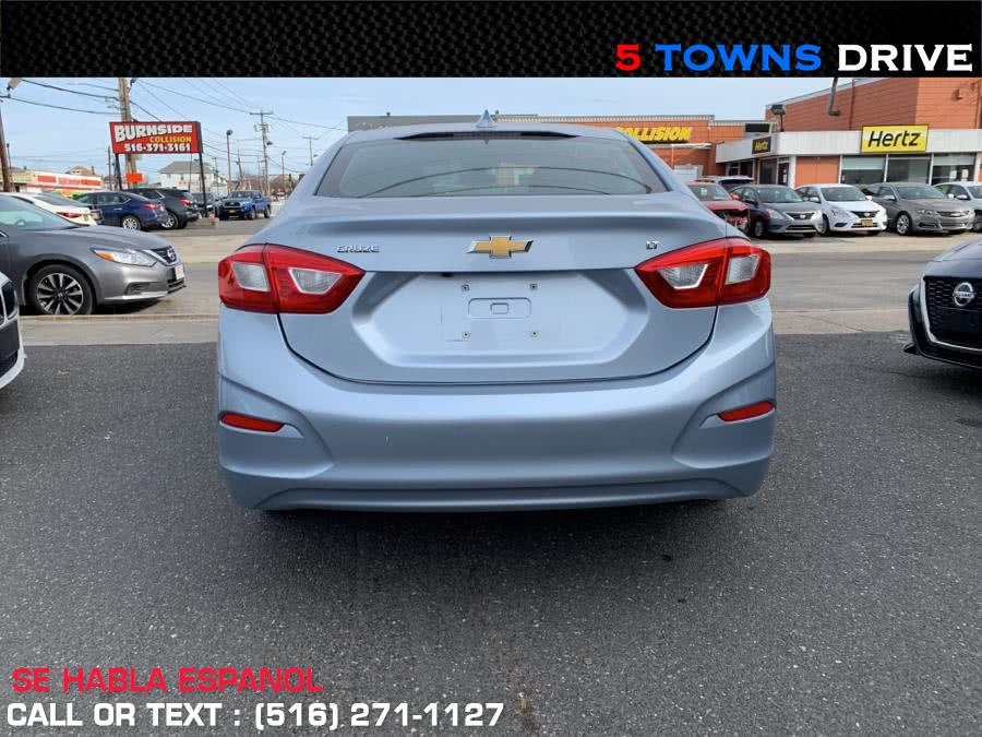 2017 Chevrolet Cruze 4dr Sdn 1.4L LT w/1SD, available for sale in Inwood, New York | 5townsdrive. Inwood, New York