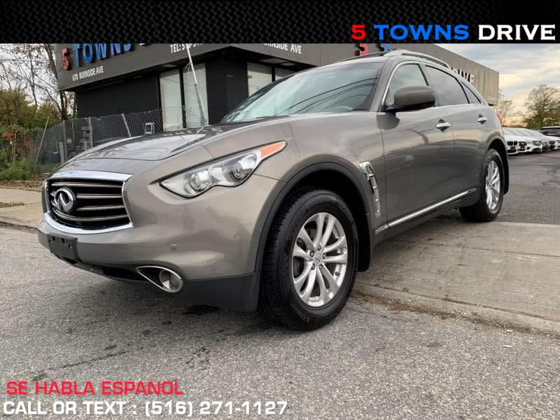 2012 Infiniti FX35 AWD 4dr, available for sale in Inwood, NY