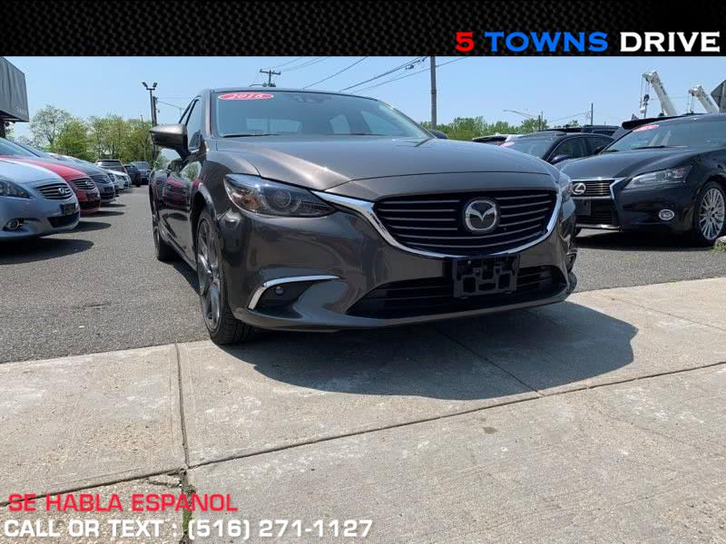 Used Mazda Mazda6 4dr Sdn Auto i Grand Touring 2016 | 5 Towns Drive. Inwood, New York