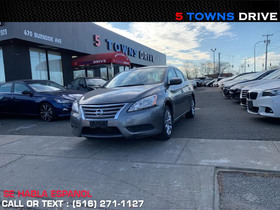 Used 2015 Nissan Sentra in Inwood, New York | 5townsdrive. Inwood, New York