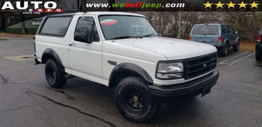 Used Ford Bronco 105