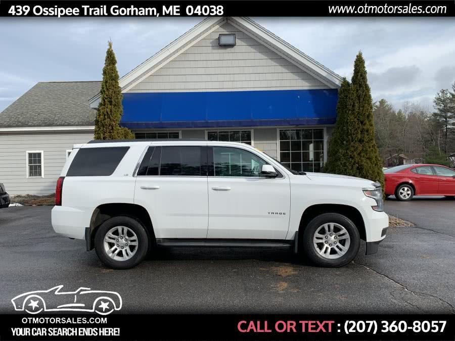 Used 2016 Chevrolet Tahoe in Gorham, Maine | Ossipee Trail Motor Sales. Gorham, Maine