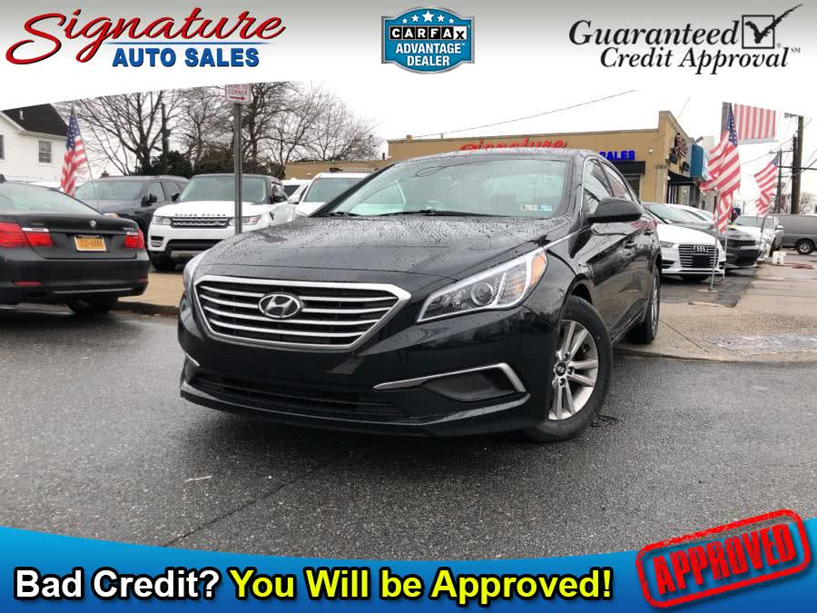 Used 2016 Hyundai Sonata in Franklin Square, New York | Signature Auto Sales. Franklin Square, New York