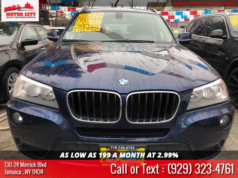 Used BMW X3 AWD 4dr xDrive28i 2013 | Motor City. Jamaica, New York