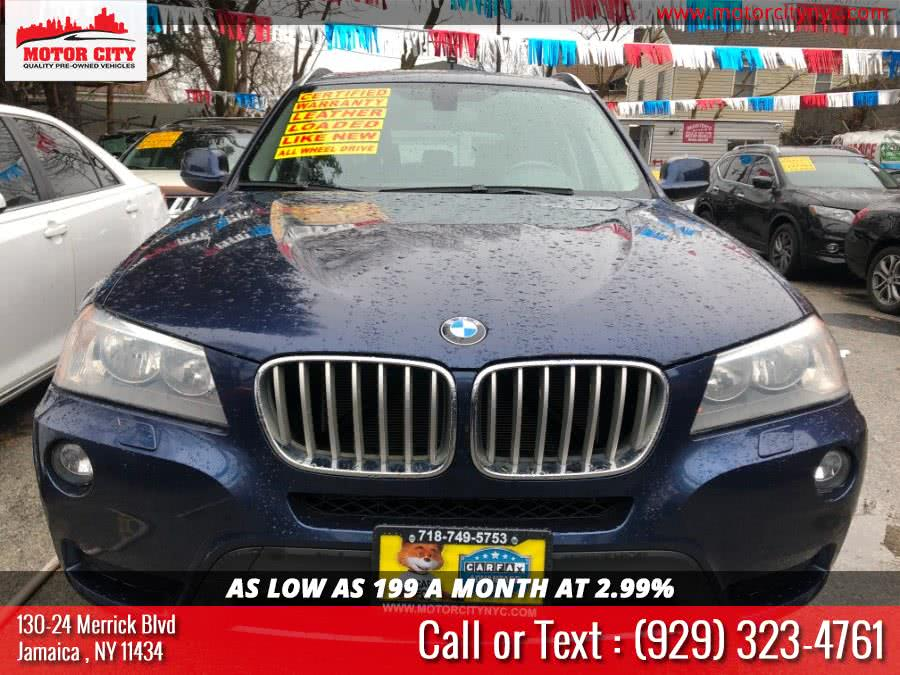 Used BMW X3 AWD 4dr xDrive28i 2014 | Motor City. Jamaica, New York