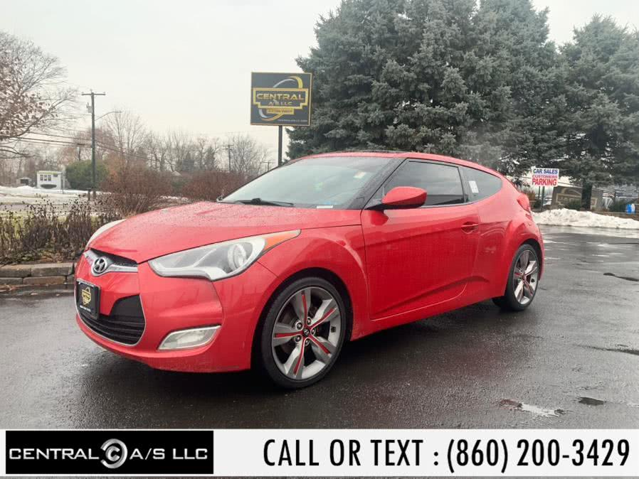 Used Hyundai Veloster 3dr Cpe Auto w/Gray Int 2012 | Central A/S LLC. East Windsor, Connecticut