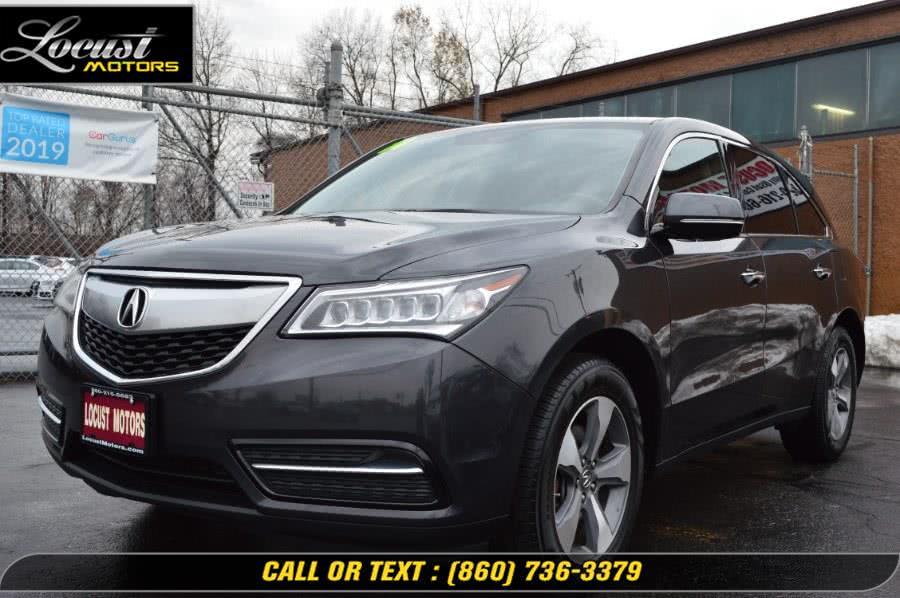 Used 2014 Acura MDX in Hartford, Connecticut | Locust Motors LLC. Hartford, Connecticut