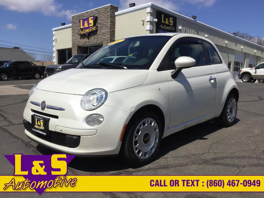 Used FIAT 500 2dr HB Pop 2012 | L&S Automotive LLC. Plantsville, Connecticut