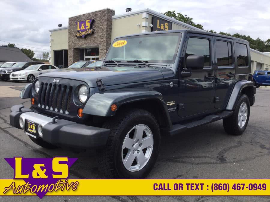Used 2008 Jeep Wrangler Unlimited in Plantsville, Connecticut | L&S Automotive LLC. Plantsville, Connecticut