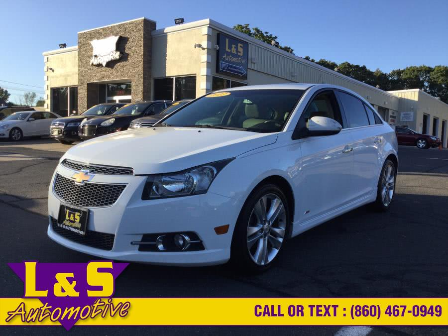 2011 Chevrolet Cruze 4dr Sdn LTZ, available for sale in Plantsville, CT