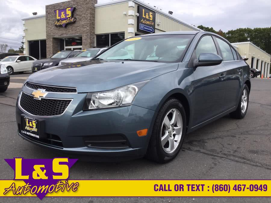 Used Chevrolet Cruze 4dr Sdn LT w/1FL 2012 | L&S Automotive LLC. Plantsville, Connecticut