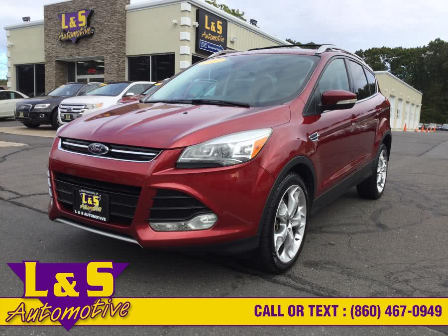 2013 Ford Escape 4WD 4dr Titanium, available for sale in Plantsville, CT