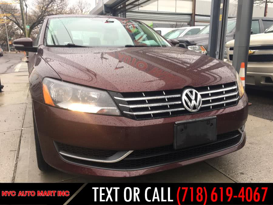 Used 2014 Volkswagen Passat in Brooklyn, New York | NYC Automart Inc. Brooklyn, New York