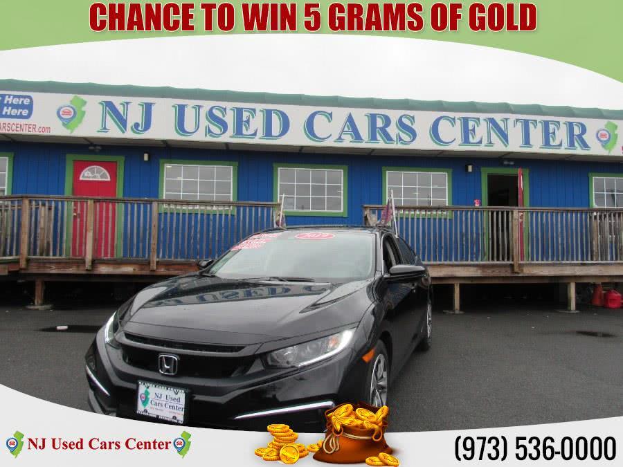Used 2019 Honda Civic Sedan in Irvington, New Jersey   NJ Used Cars Center. Irvington, New Jersey
