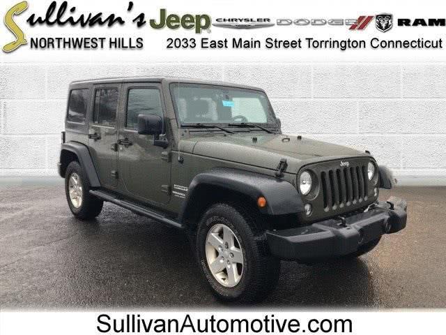 Used Jeep Wrangler Unlimited Sport 2015 | Sullivan Automotive Group. Avon, Connecticut