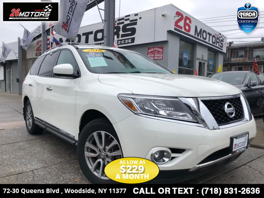 Used Nissan Pathfinder 4WD 4dr SV 2016 | 26 Motors Corp. Bronx, New York