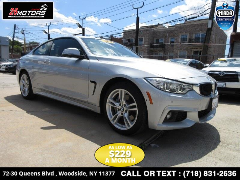 2016 BMW 4 Series 2dr Cpe 428i xDrive AWD SULEV, available for sale in Bronx, New York | 26 Motors Corp. Bronx, New York