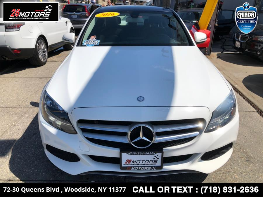 2016 Mercedes-Benz C-Class 4dr Sdn C300 Luxury 4MATIC, available for sale in Bronx, New York   26 Motors Corp. Bronx, New York