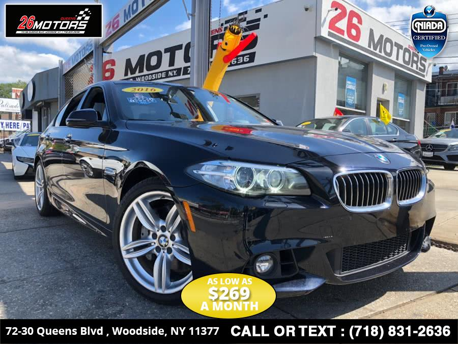 Used 2016 BMW 5 Series in Bronx, New York | 26 Motors Corp. Bronx, New York