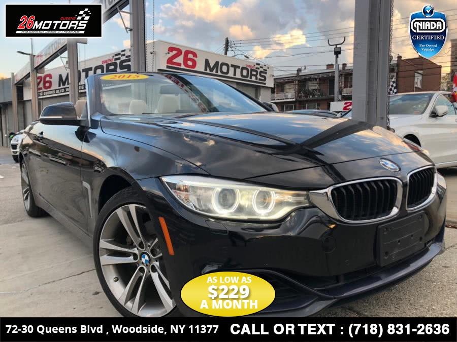 Used BMW 4 Series 2dr Conv 428i xDrive AWD 2015 | 26 Motors Corp. Bronx, New York