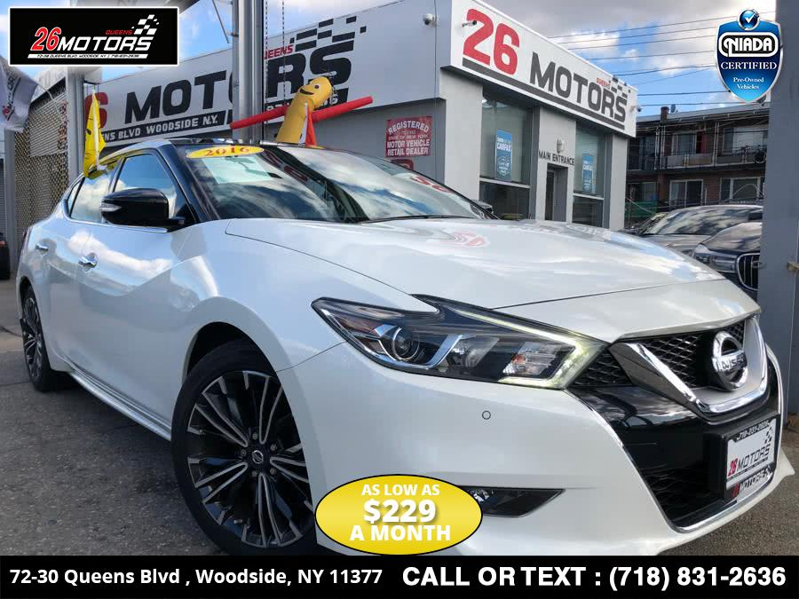 Used Nissan Maxima 4dr Sdn 3.5 SL 2016 | 26 Motors Corp. Bronx, New York