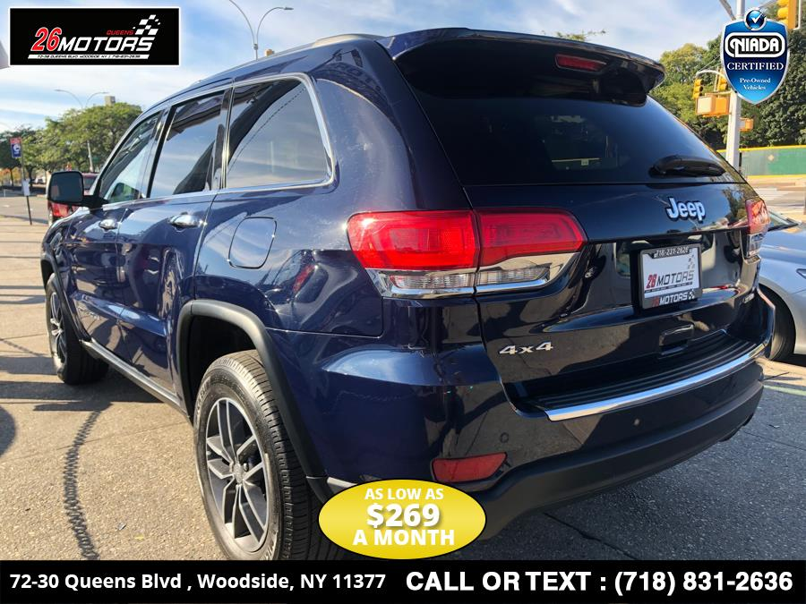 2017 Jeep Grand Cherokee Limited 4x4, available for sale in Bronx, New York | 26 Motors Corp. Bronx, New York