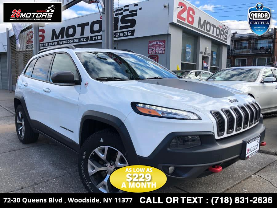 Used Jeep Cherokee 4WD 4dr Trailhawk 2014 | 26 Motors Corp. Bronx, New York