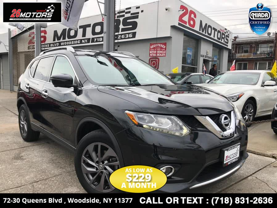 Used Nissan Rogue AWD 4dr SV 2016 | 26 Motors Corp. Bronx, New York