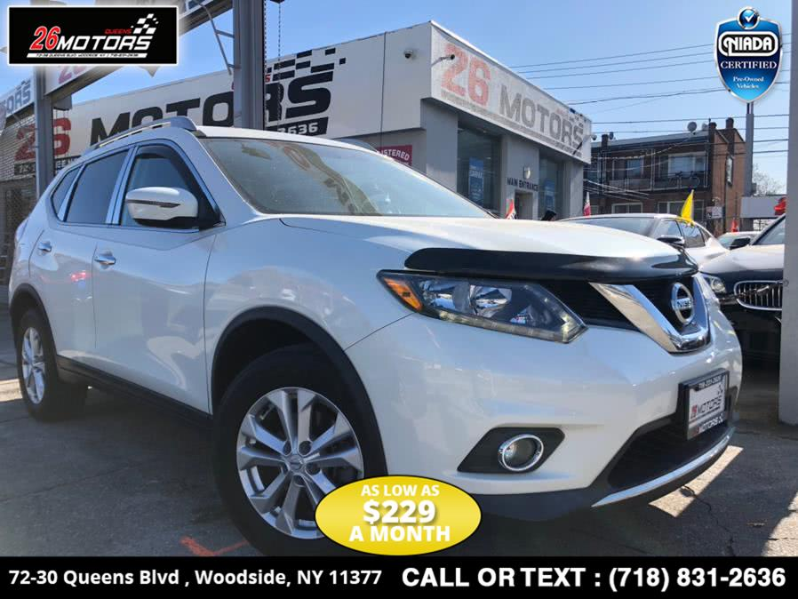 Used Nissan Rogue AWD 4dr SL 2016 | 26 Motors Corp. Bronx, New York