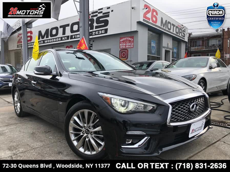 Used 2019 INFINITI Q50 in Bronx, New York | 26 Motors Corp. Bronx, New York