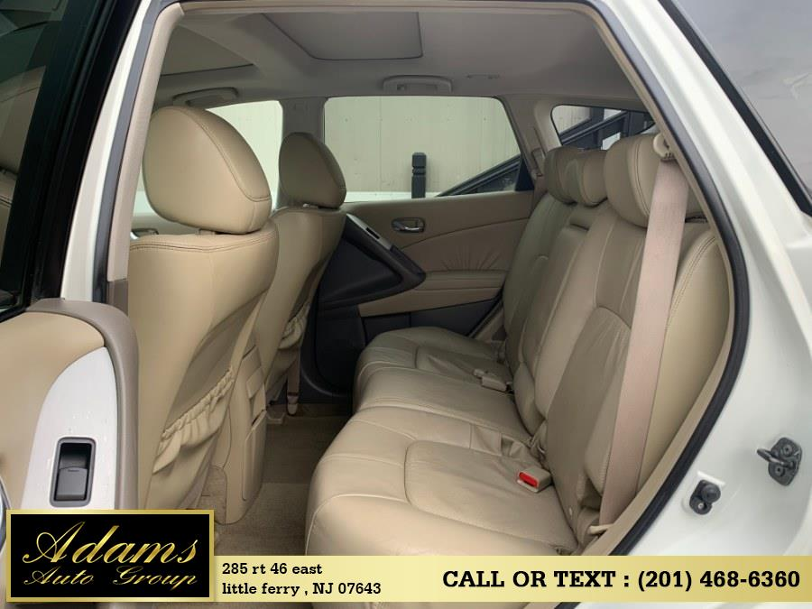 2010 Nissan Murano AWD 4dr SL, available for sale in Little Ferry , New Jersey | Adams Auto Group . Little Ferry , New Jersey