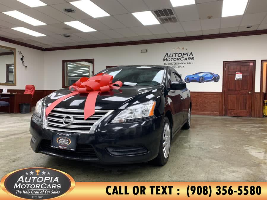 Used 2013 Nissan Sentra in Union, New Jersey | Autopia Motorcars Inc. Union, New Jersey