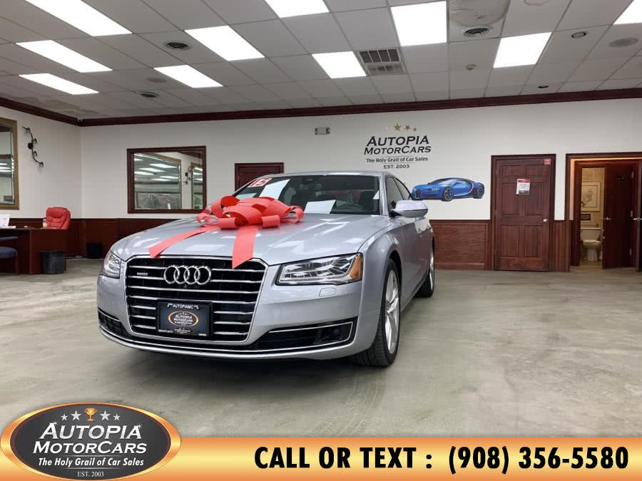 Used 2015 Audi A8 in Union, New Jersey | Autopia Motorcars Inc. Union, New Jersey