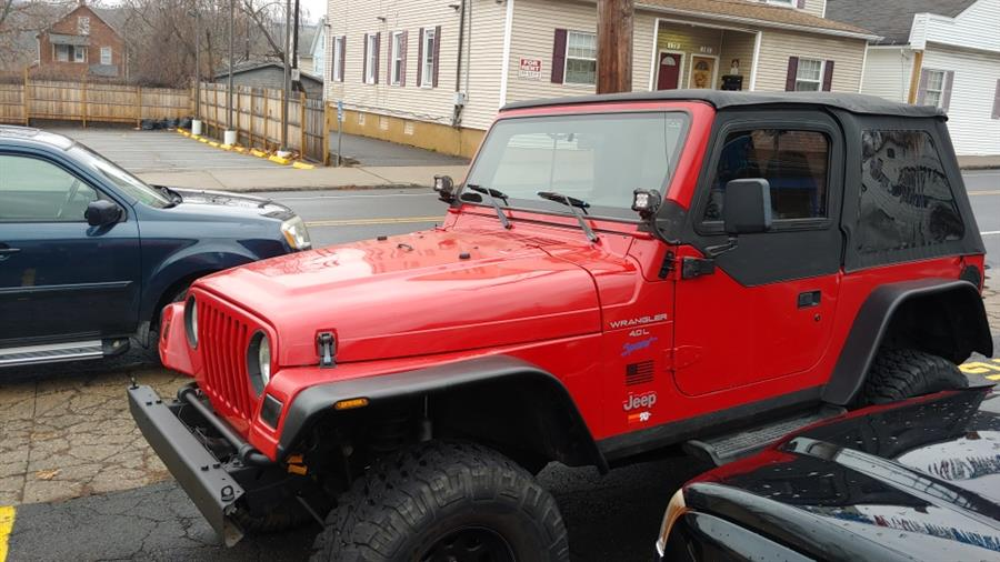 1997 Jeep Wrangler 2dr Sport, available for sale in Ansonia, CT