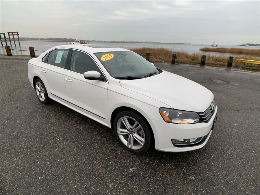Used Volkswagen Passat 4dr Sdn 2.0L DSG TDI SEL Premium 2014 | Wiz Leasing Inc. Stratford, Connecticut