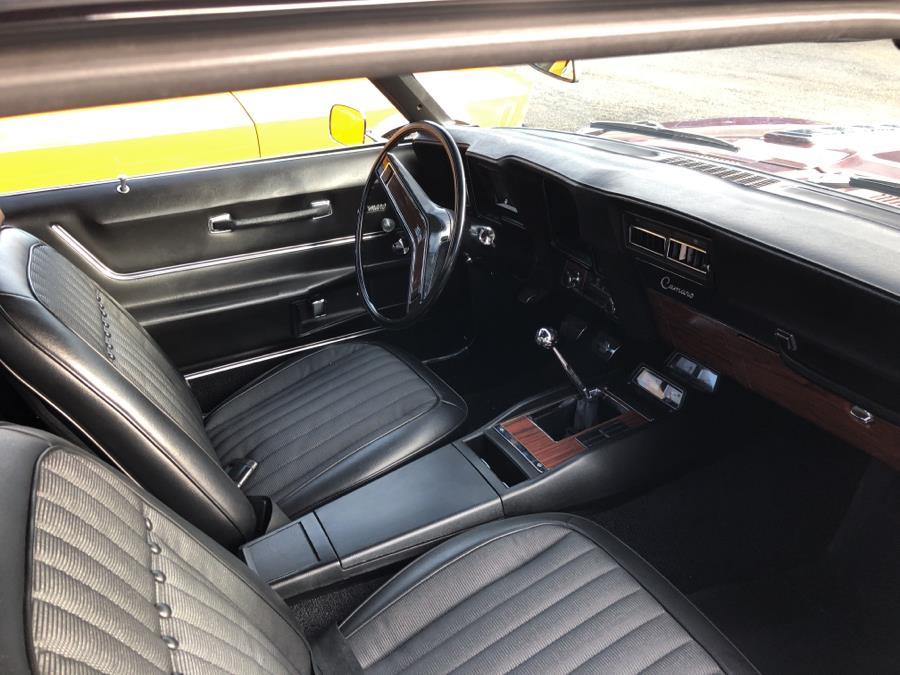 1969 Chevrolet Camaro 2 door coupe, available for sale in Waterbury, Connecticut | Tony's Auto Sales. Waterbury, Connecticut