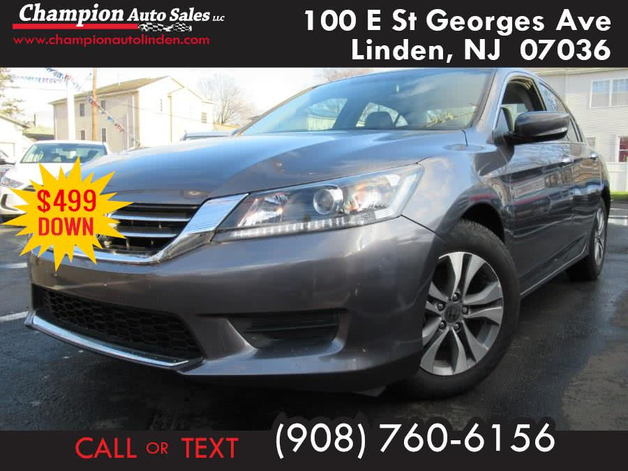 Used 2015 Honda Accord Sedan in Linden, New Jersey | Champion Used Auto Sales. Linden, New Jersey