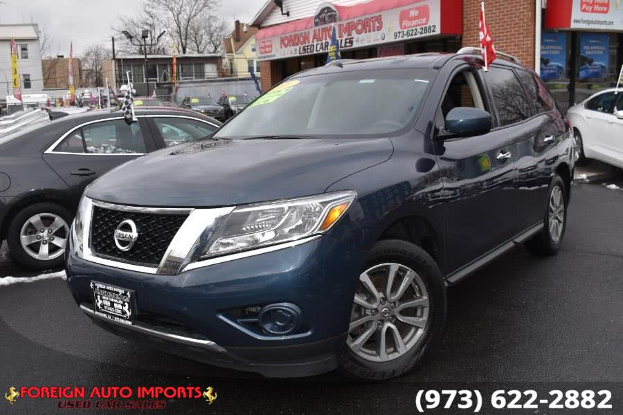 Used Nissan Pathfinder 4WD 4dr S 2016 | Foreign Auto Imports. Irvington, New Jersey
