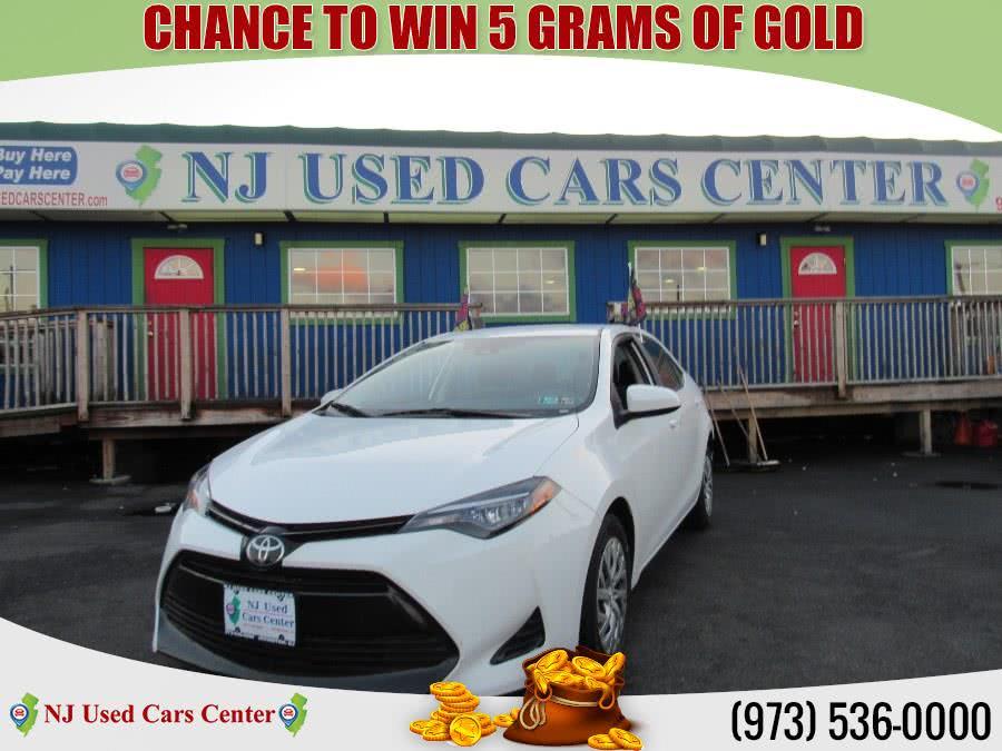 Used 2017 Toyota Corolla in Irvington, New Jersey | NJ Used Cars Center. Irvington, New Jersey
