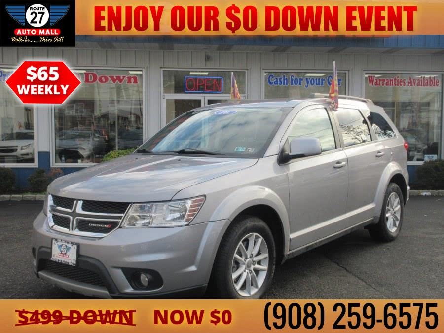 Used 2016 Dodge Journey in Linden, New Jersey | Route 27 Auto Mall. Linden, New Jersey
