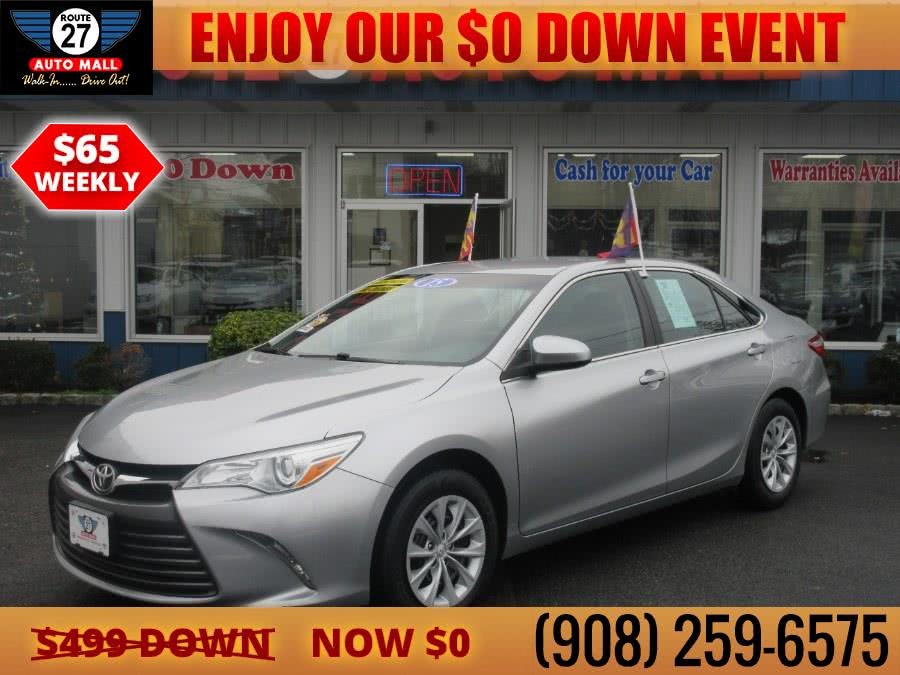 Used 2015 Toyota Camry in Linden, New Jersey | Route 27 Auto Mall. Linden, New Jersey